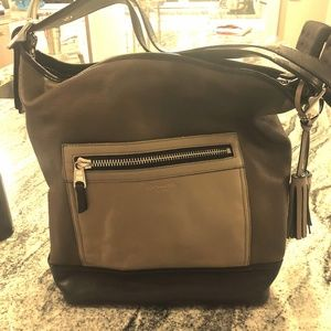 women s coach legacy leather duffle on poshmark rh poshmark com